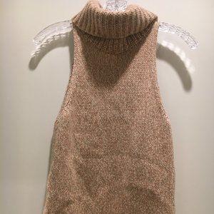EUC Madewell Sleeveless Cowl Sweater